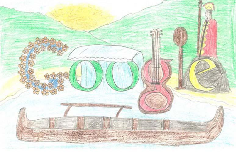 google doodle winners k 3 2012 3 The Top 50 Google Doodle Contest Winners Gallery