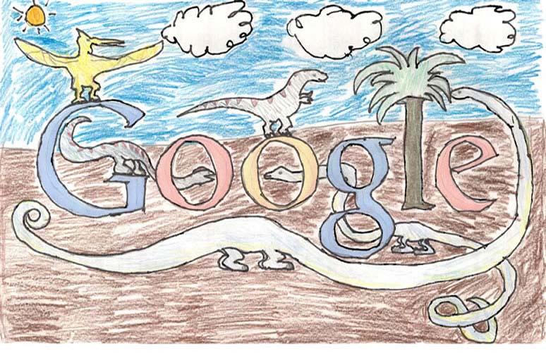google doodle winners k 3 2012 6 The Top 50 Google Doodle Contest Winners Gallery
