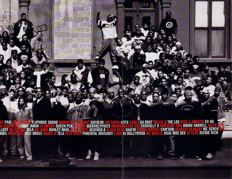 great day in hip hop history xxl magazine harlem 1998 2 The Most Epic Group Photos You Will See Today
