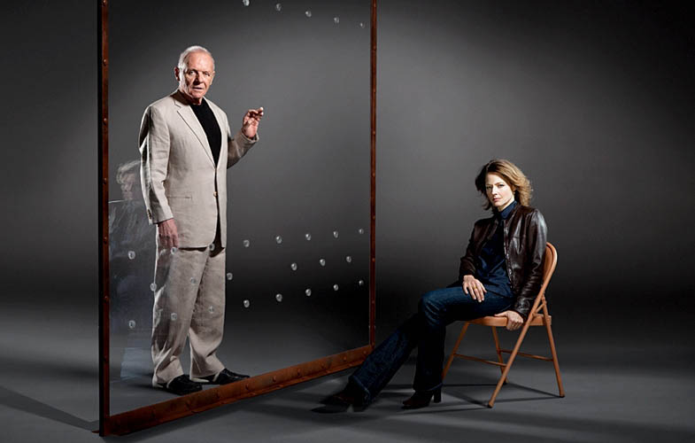 hopkins foster silence of the lambs empire shoot Actors Revisit Their Famous Roles in Normal Attire