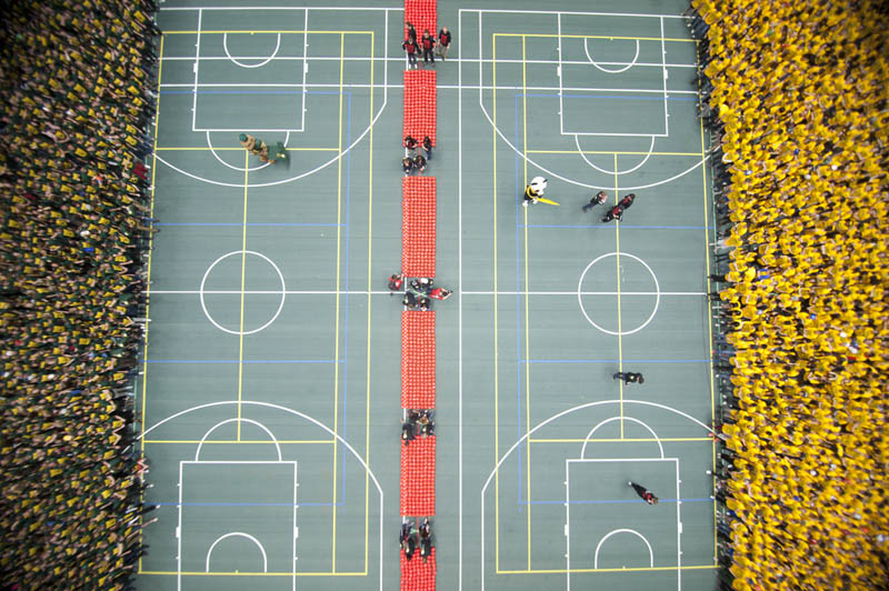 The Largest Game of Dodgeball in the World