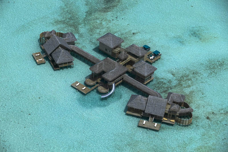 maldives resorts on the water stilt houses 5 The Amazing Stilt Houses of Soneva Gili in the Maldives