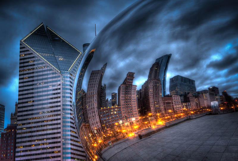 millennium park chicago Incredible Architecture Photography by Dave Wilson