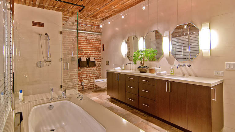 Stunning Open Concept Loft with Exposed Brick «TwistedSifter