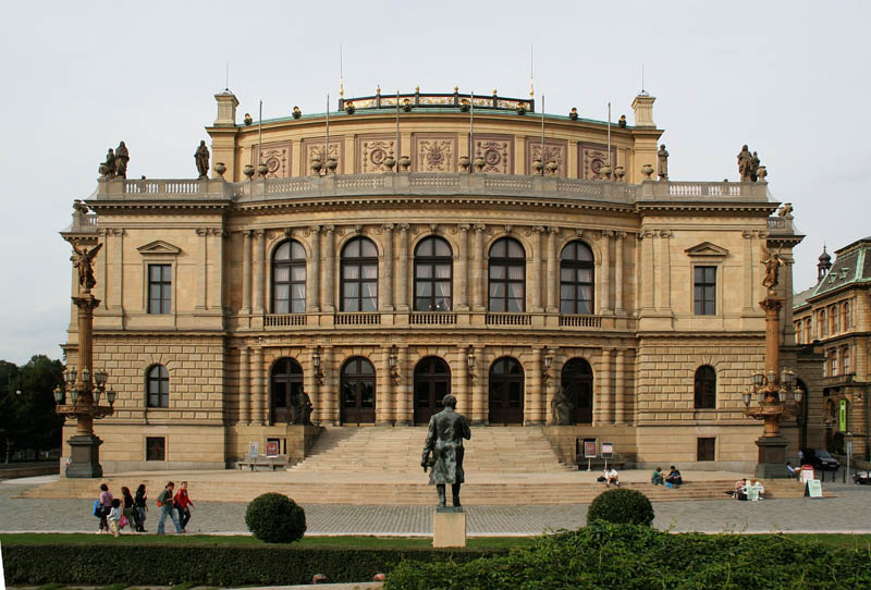 praha rudolfinum front 25 Incredible Concert Halls Around the World