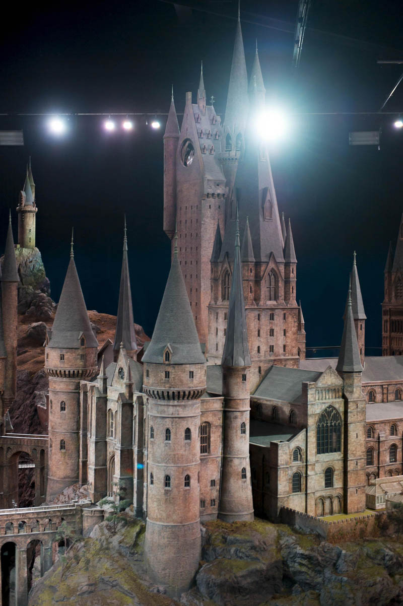 Real Life Hogwarts Castle Scale Model
