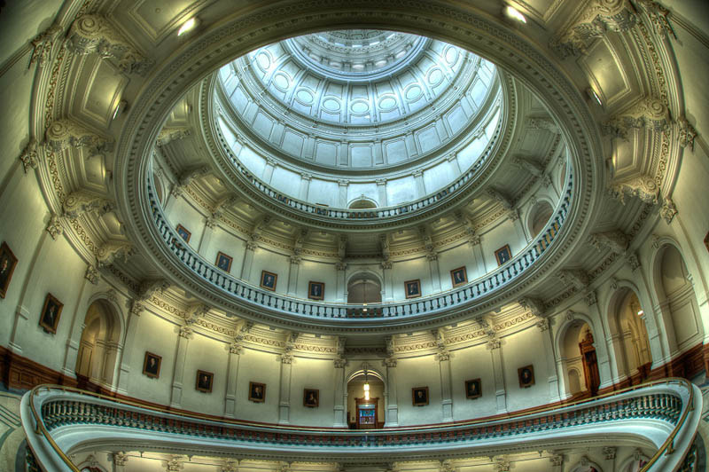 rings e28093 texas state capitol Incredible Architecture Photography by Dave Wilson