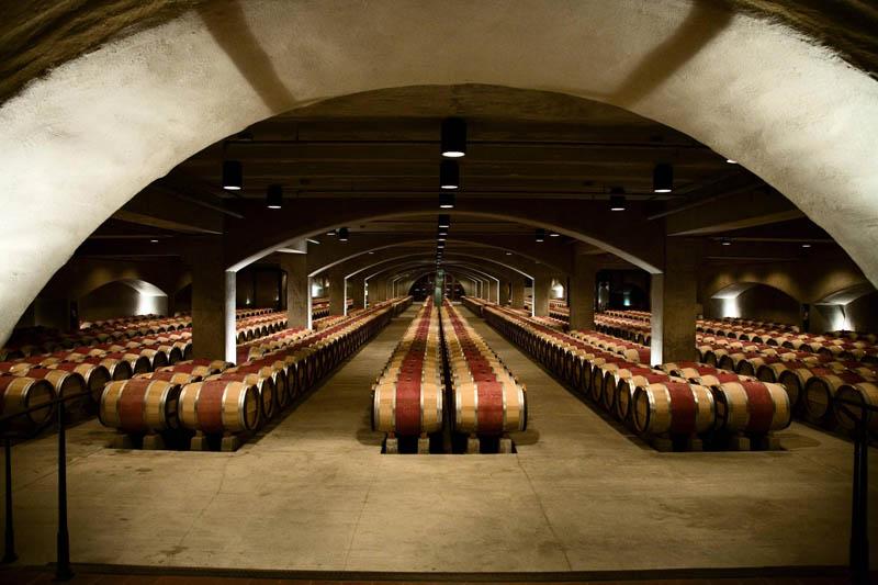 Picture Of The Day The Robert Mondavi Wine Cellar In Napa