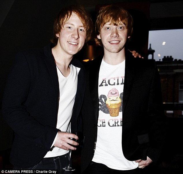 rupert grint anthony knight 30 Actors Posing With Their Stunt Doubles