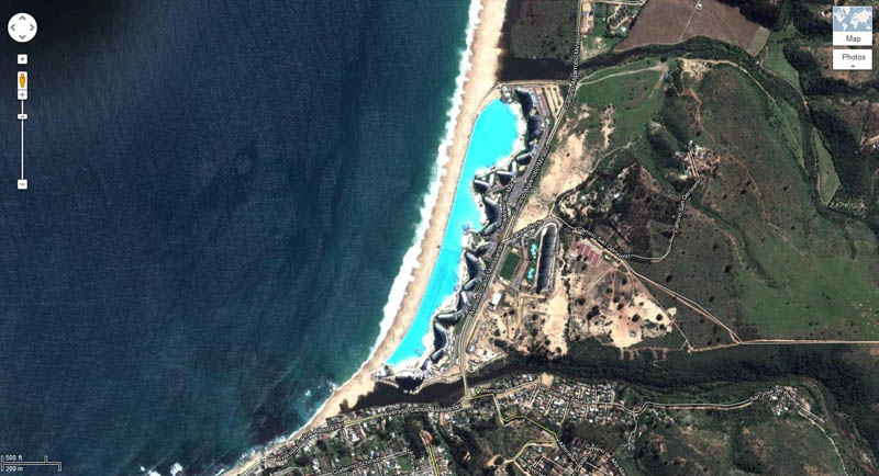 san alfonso del mar aerial satellite from above algarrobo chile 1 The Largest Swimming Pool in the World