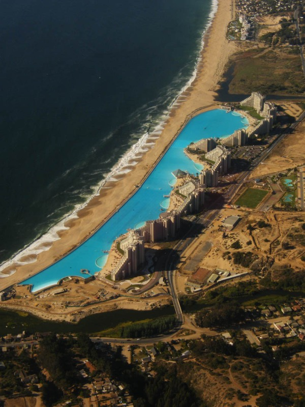san alfonso del mar aerial satellite from above algarrobo chile 4 Behind the Scenes of the Worlds Largest Cruise Ship