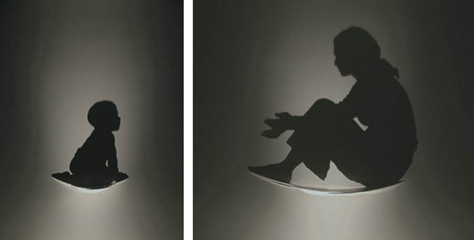 shadow art silhouette art kumi yamashita 2 Mind Blowing Shadow Art by Kumi Yamashita