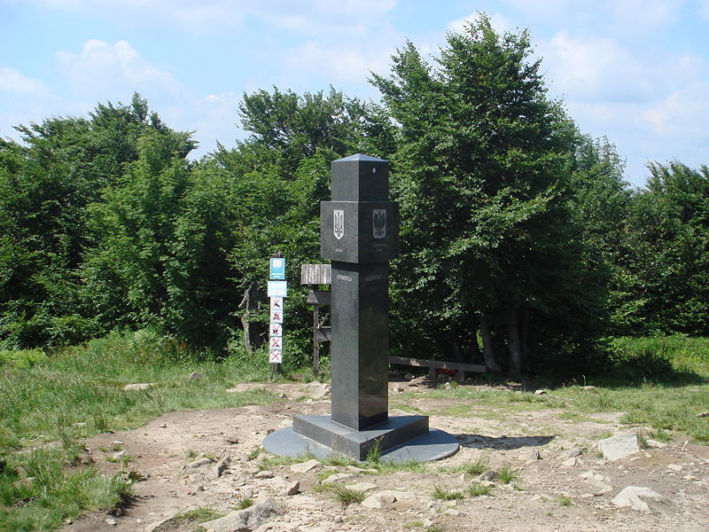 slovakia poland ukraine tripoint Where Three Countries Meet: Famous Tripoints Around the World
