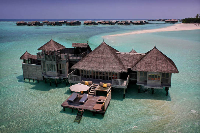 The Amazing Stilt Houses of Soneva Gili in the Maldives