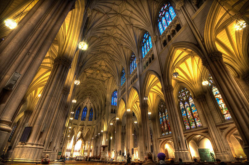 st patricks cathedral Incredible Architecture Photography by Dave Wilson