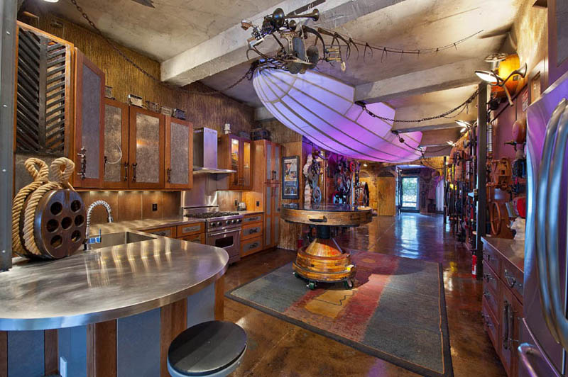 steampunk apartment new york city 11 Check Out this Steampunk Coffee House in Cape Town