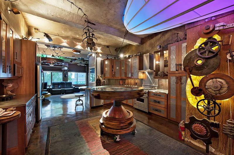 Steampunk Apartment New York City 2 Crazy Steampunk Apartment In New York  City