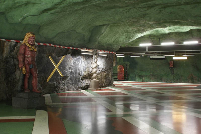 stockholm metro subway art sweden worlds longest art gallery 18 Stockholm Metro: The Worlds Longest Art Gallery