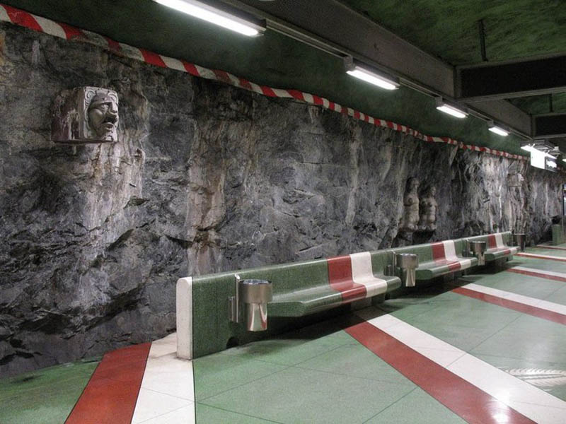 stockholm metro subway art sweden worlds longest art gallery 19 Stockholm Metro: The Worlds Longest Art Gallery