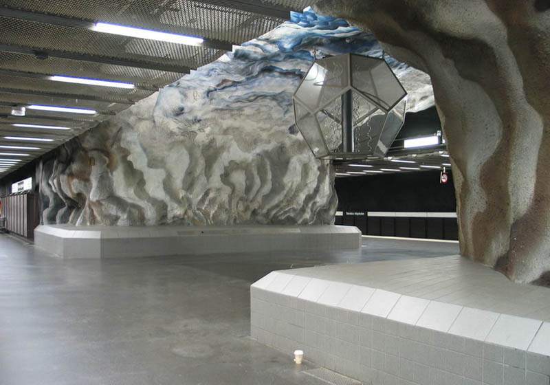 stockholm metro subway art sweden worlds longest art gallery 7 Stockholm Metro: The Worlds Longest Art Gallery