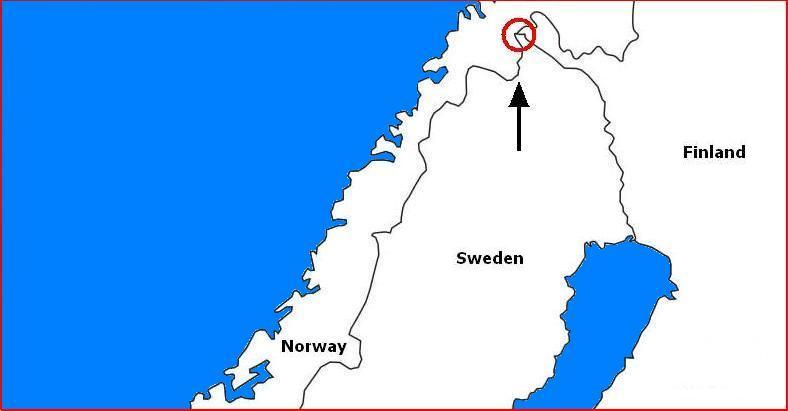 Where Three Countries Meet Famous Tripoints Around The World - Sweden map of country