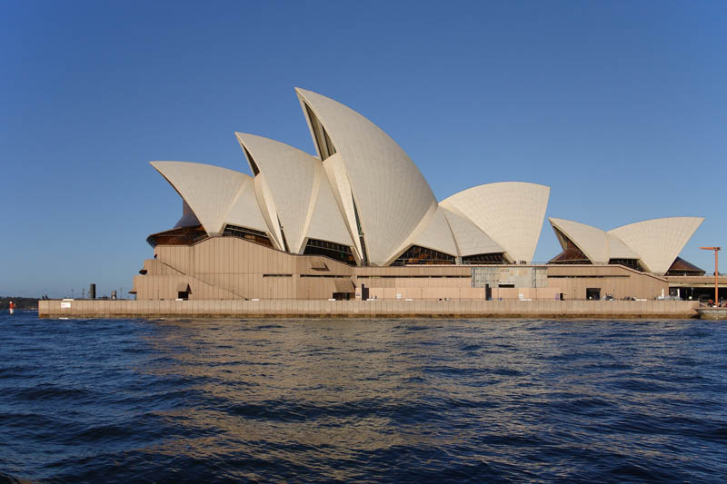 sydney opera house side view 25 Incredible Concert Halls Around the World