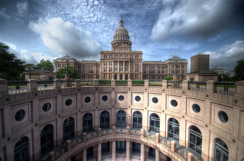 texas state capitol austin Incredible Architecture Photography by Dave Wilson