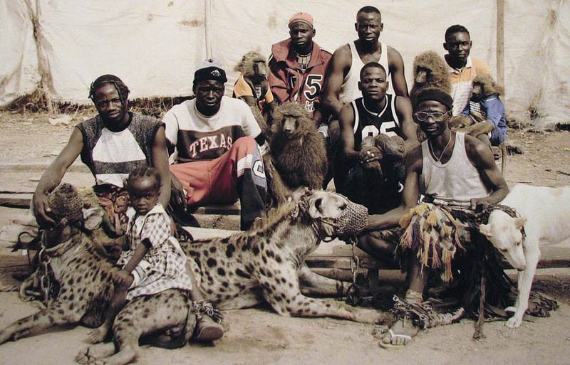 Image result for hyena man in nigeria