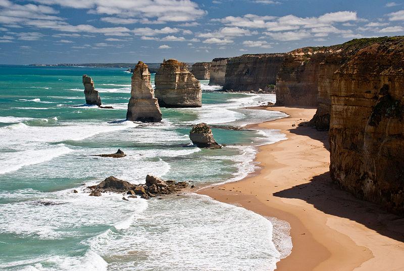 The Twelve Apostles in Victoria,Australia
