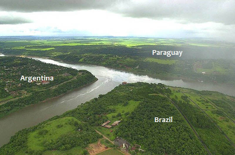 triple frontier brazil argentina paraguay tripoint Where Three Countries Meet: Famous Tripoints Around the World