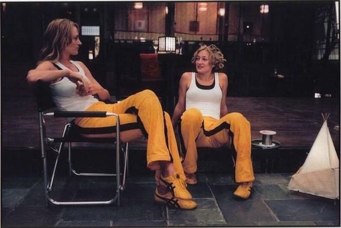 uma thurman zoe bell 30 Actors Posing With Their Stunt Doubles