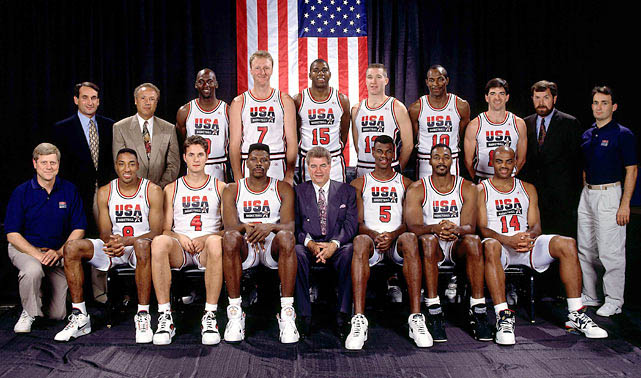 us dream team 1992 olympic basketball team The Most Epic Group Photos You Will See Today