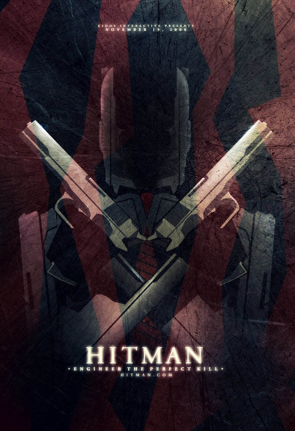 14 Creative Video Game Inspired Movie Posters u00abTwistedSifter