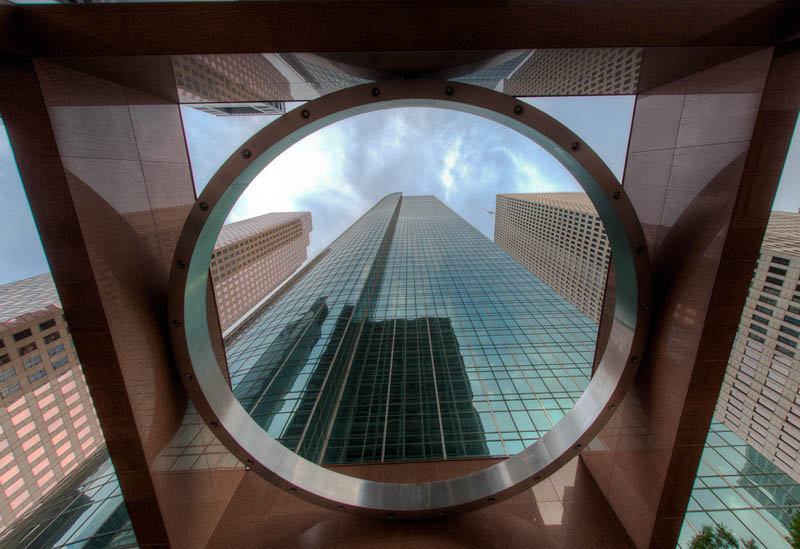 wells fargo tower houston texas Incredible Architecture Photography by Dave Wilson