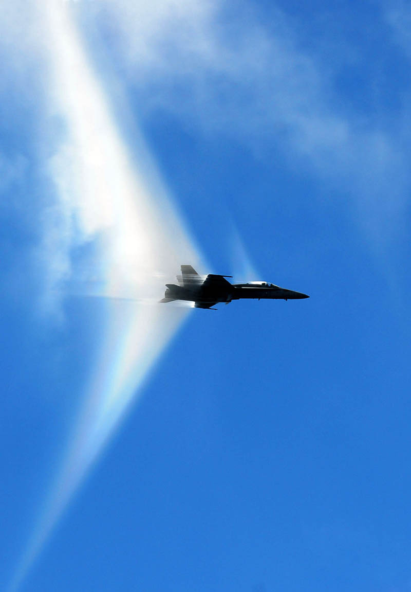 breaking sound barrier while making high speed pass from side angle