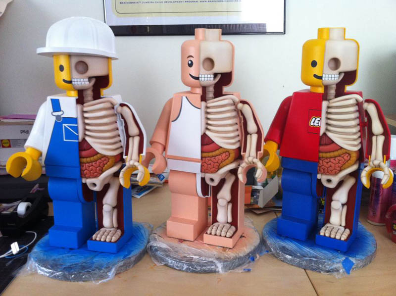 The Anatomy Of A Lego Man Twistedsifter