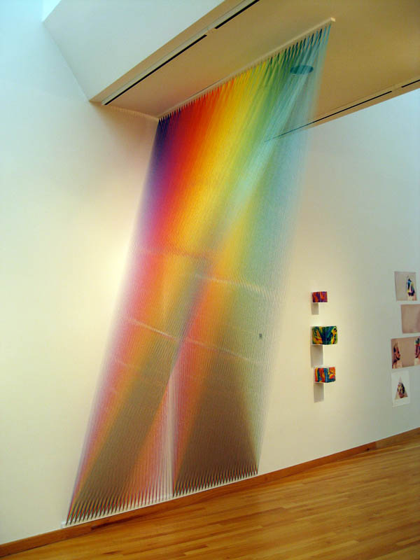 color spectrum thread art gabriel dawe 2 6 Amazing Color Spectrums Made from Thread