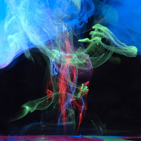 colored ink in water aqueous mark mawson 4 Ink Explosions Under Water by Mark Mawson