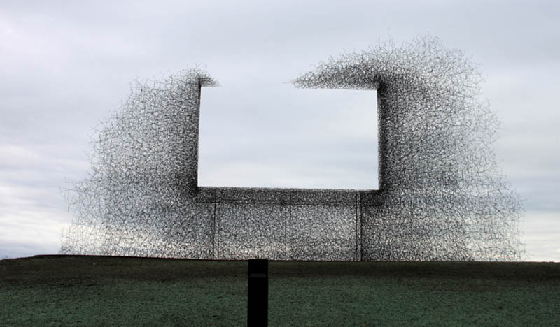 anti-billboard promoting clean space and air