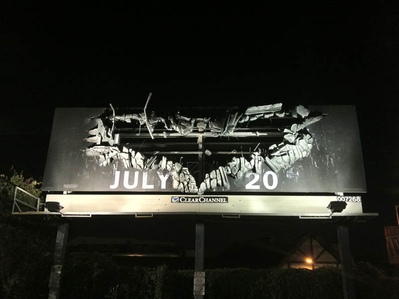 the dark knight billboard