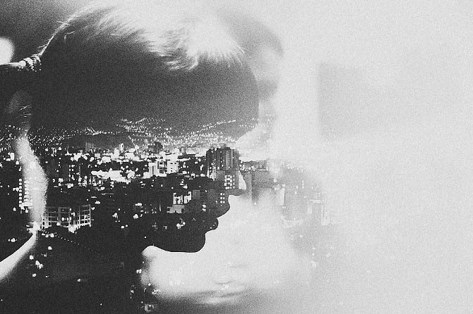 double exposures by andre de freitas meatherium 10 Beautiful Double Exposures by Andre De Freitas