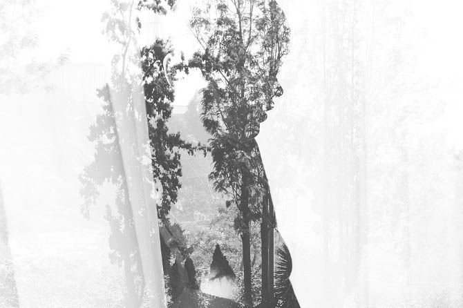 double exposures by andre de freitas meatherium 8 Beautiful Double Exposures by Andre De Freitas