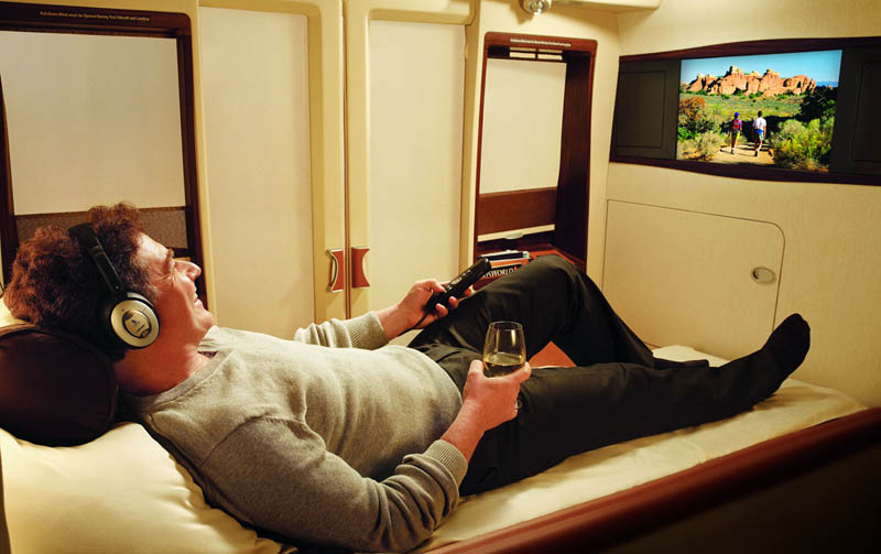 the private suites on singapore airlines twistedsifter