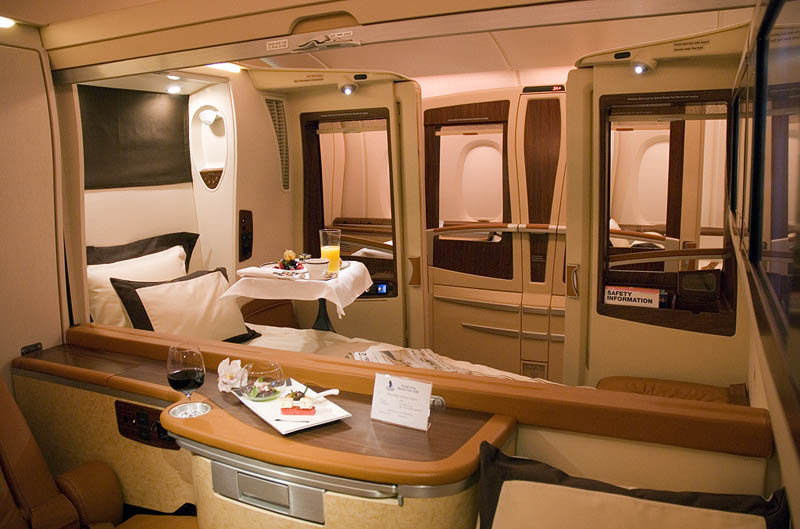 first class suites singapore airlines a380 3 The Private Suites on Singapore Airlines