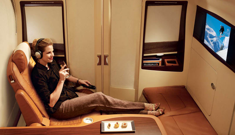 first class suites singapore airlines a380 5 The Private Suites on Singapore Airlines
