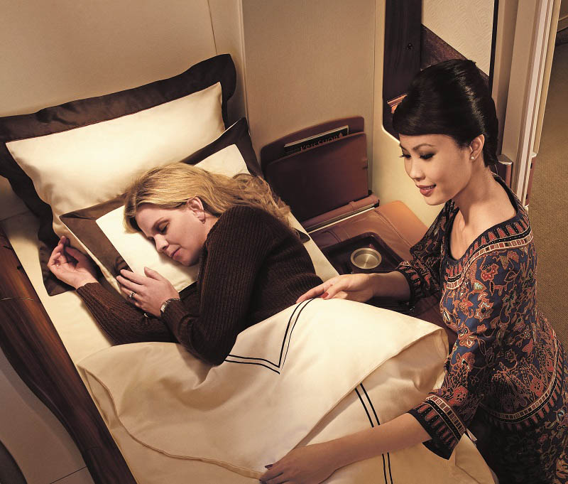 first class suites singapore airlines a380 7 The Private Suites on Singapore Airlines