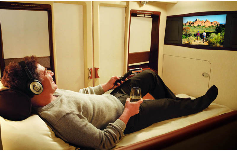 The Private Suites on Singapore Airlines
