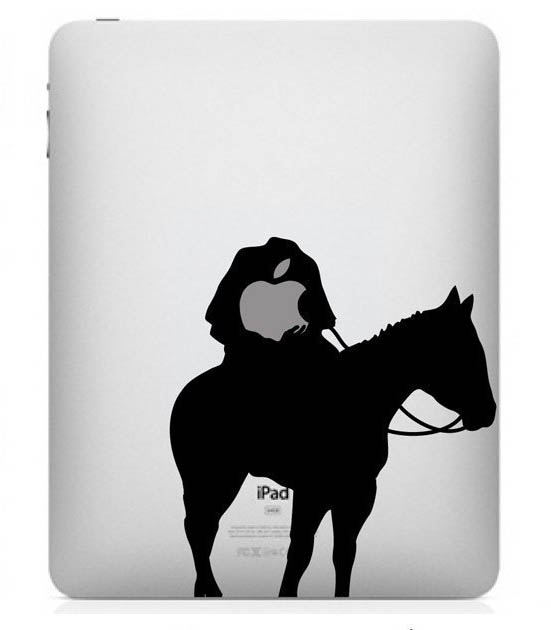 funny creative ipad decal headless horseman 33 Creative Decals for your iPad