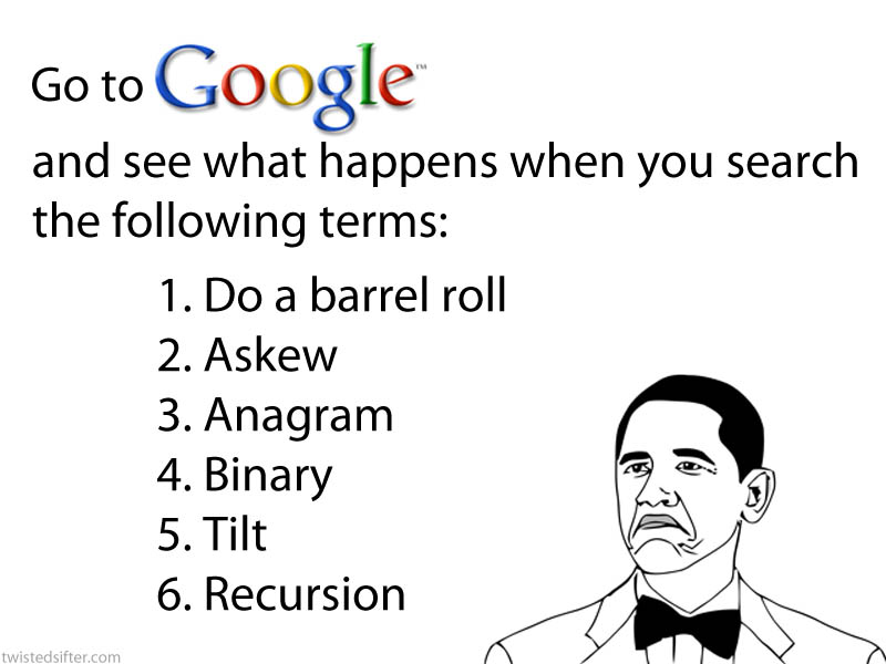 funny interesting google searches easter eggs