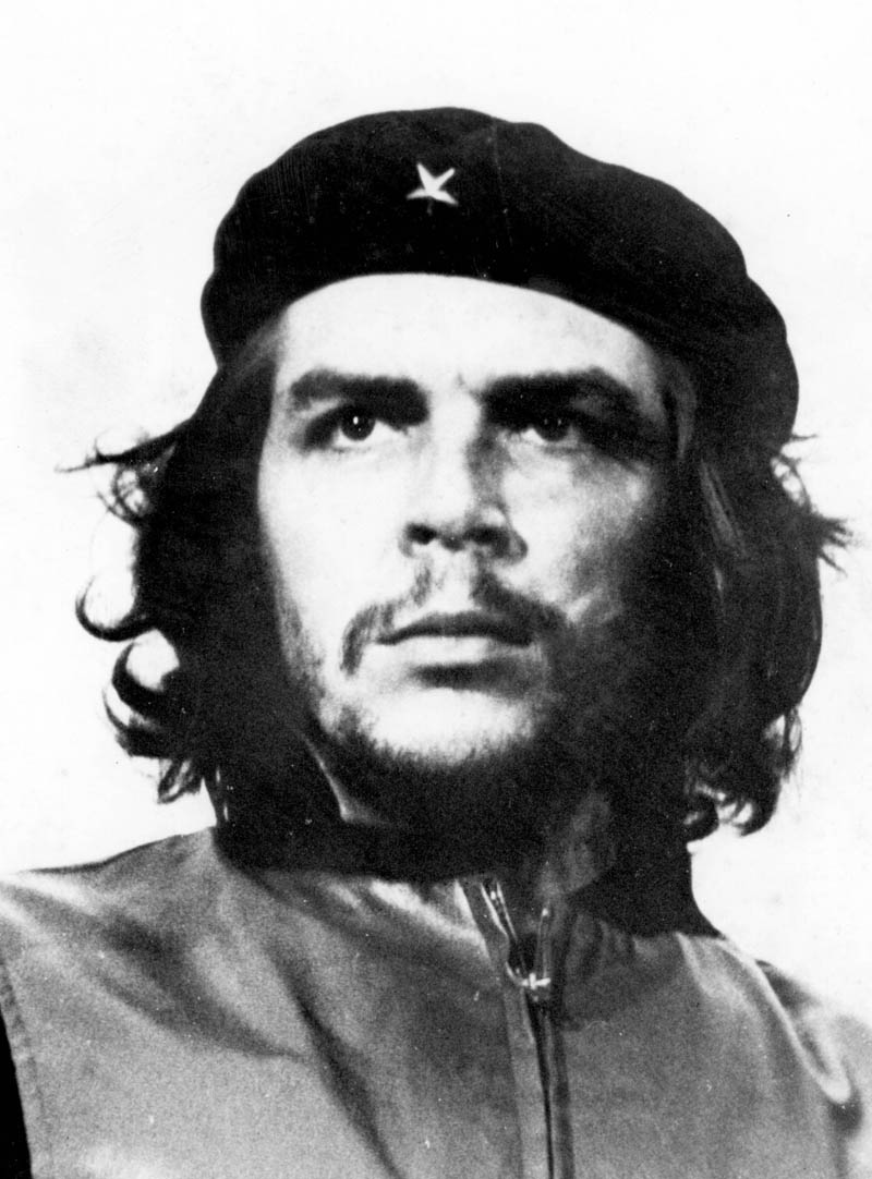 iconic cropped photo of che guevara